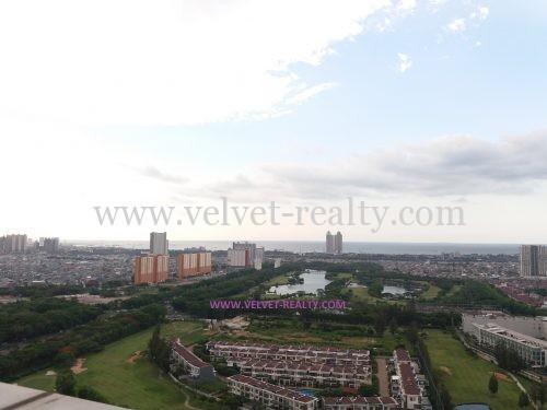Dijual Penthouse Royale Springhill 2 Lantai view Sea dan Golf