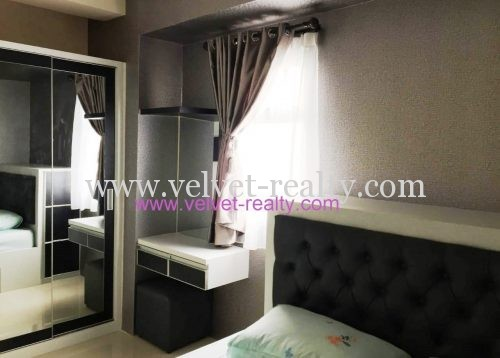 Dijual Apartemen Oakwood skygarden 2 BR furnish interior  #VR330