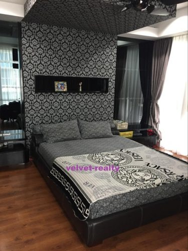 Dijual Apt The Royale Springhill 3+1 BR private lift siap dihuni #VR269