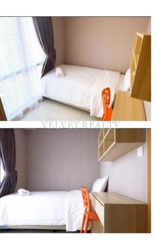 Disewakan Apt The Mansion Kemayoran 2 BR Furnish Luas 60m2 #VR504