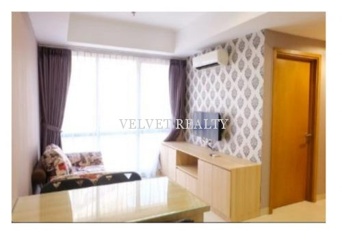 Disewakan Apt The Mansion Kemayoran 2 BR Furnish Luas 60m2 #VR504 #VR504
