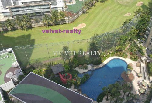 Disewakan Apt The Mansion Kemayoran 2 BR luas 62m2 Furnish #VR553 #VR553