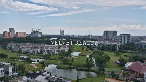 Disewakan Apt The Royale Springhill 3+2 BR Furnish Golf View #VR377 #VR377