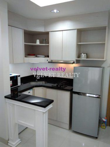 Dijual Apartemen The Mansion Kemayoran 2 BR luas 60m2 Furnish #VR564