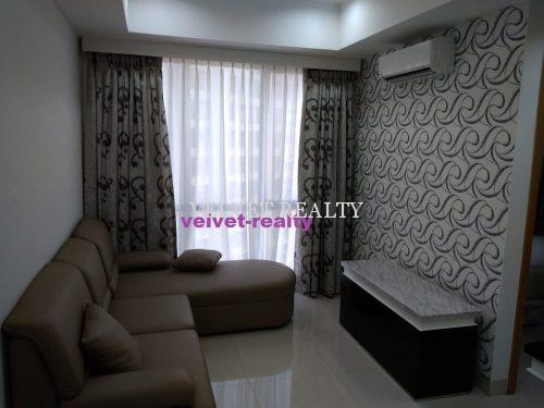 Dijual Apartemen The Mansion Kemayoran 2 BR luas 60m2 Furnish #VR564 #VR564