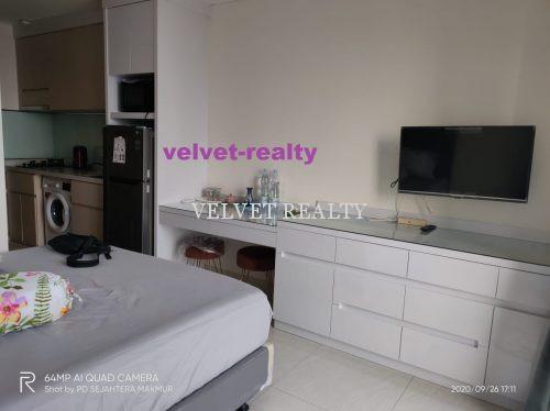 Disewakan Apt Sedayu City Kelapa Gading Studio Luas 28m2 Furnish #VR589