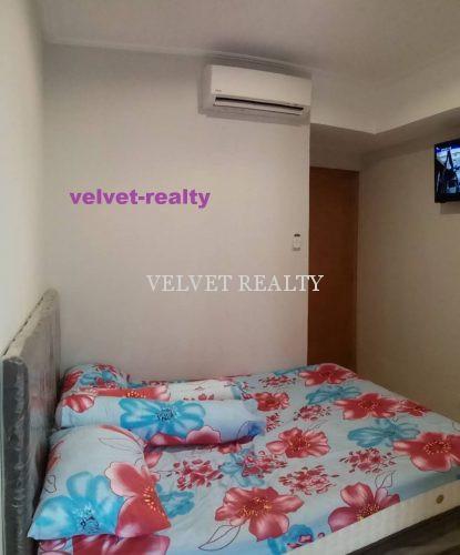 Dijual Apt The Mansion Kemayoran 1 BR Luas 33m2 Furnish #VR582