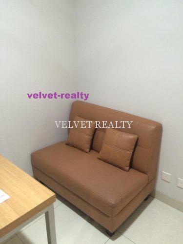 Dijual Apt The Mansion Kemayoran 1 BR Luas 29m2 Furnish #VR641
