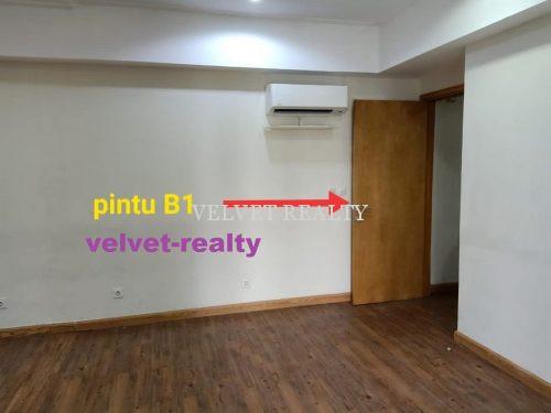 Disewakan Space Office The Mansion Kemayoran Luas 80 M2 #VR685