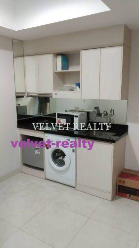 Dijual Apt The Mansion Kemayoran 1 BR Luas 33m2 Furnish #VR708 #VR708