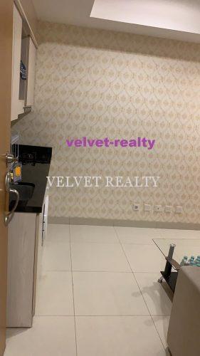 Dijual BU Apt Mansion Kemayoran 1BR Furnish lantai rendah #VR722