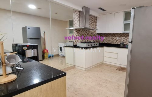 Disewakan Apt The Royale Springhill 2 BR Furnish 119m2 view city #VR511