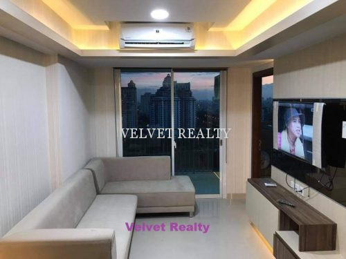 Dijual Apt Springhill Terrace Kemayoran 3+1 BR Luas 99 m2 full furnish #VR724